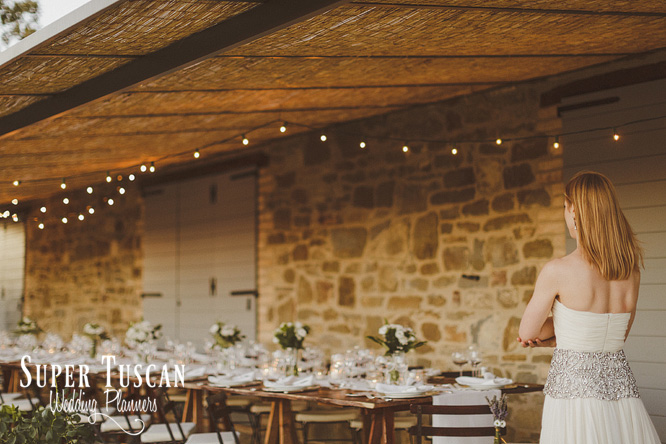 30Wedding in Italy Country style Super Tuscan