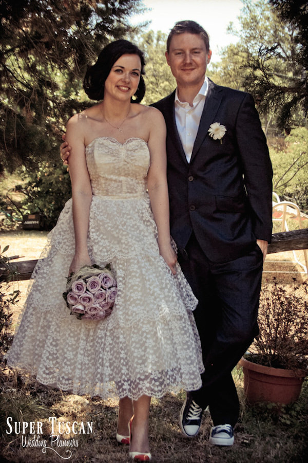 11Vintage style wedding in Italy