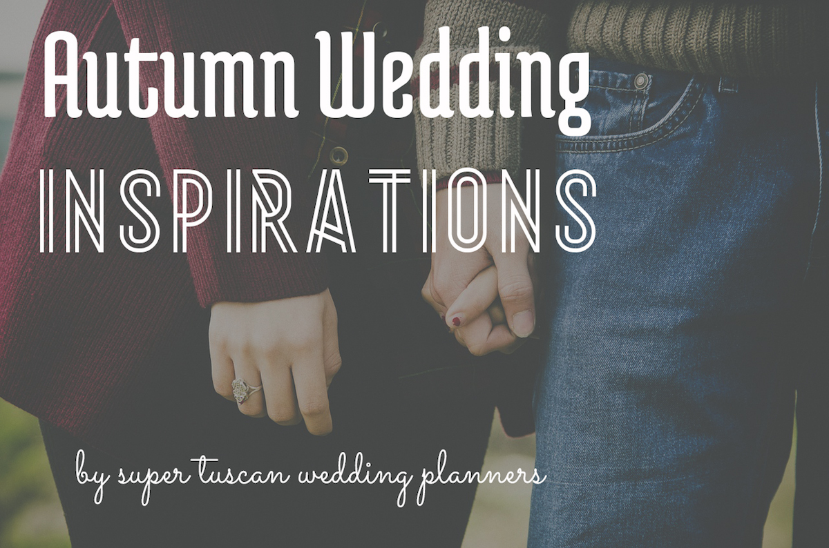 autumn wedding inspirations in Italy