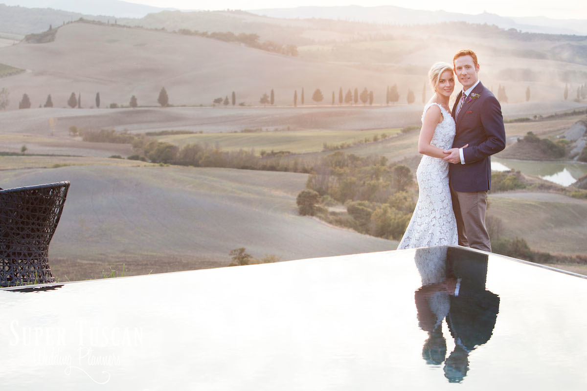 23Stunning Bride for wedding in Val d'orcia Italy