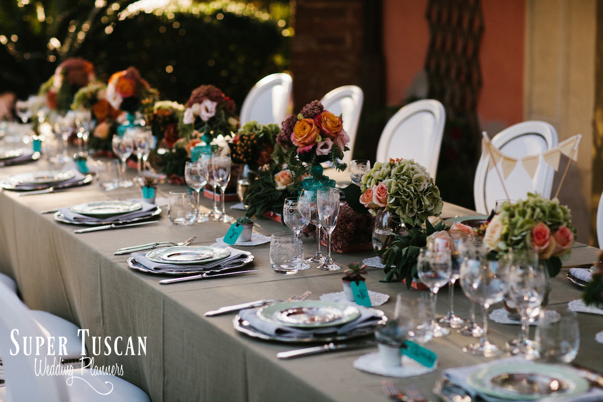 16Wedding in Italy romantic style Super Tuscan Wedding Planners