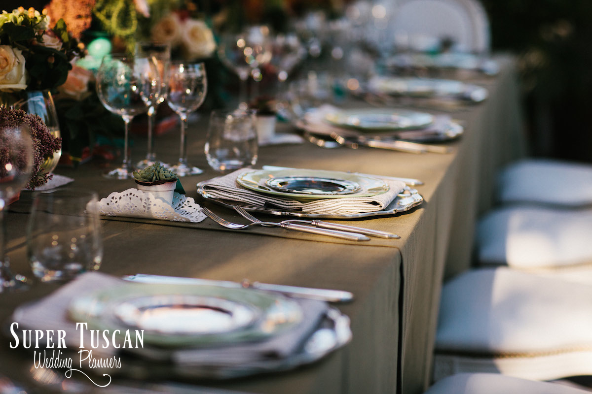 18Wedding in Italy romantic style Super Tuscan Wedding Planners