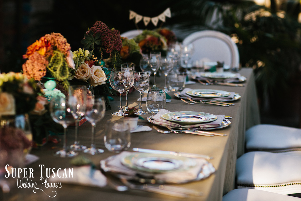 19Wedding in Italy romantic style Super Tuscan Wedding Planners