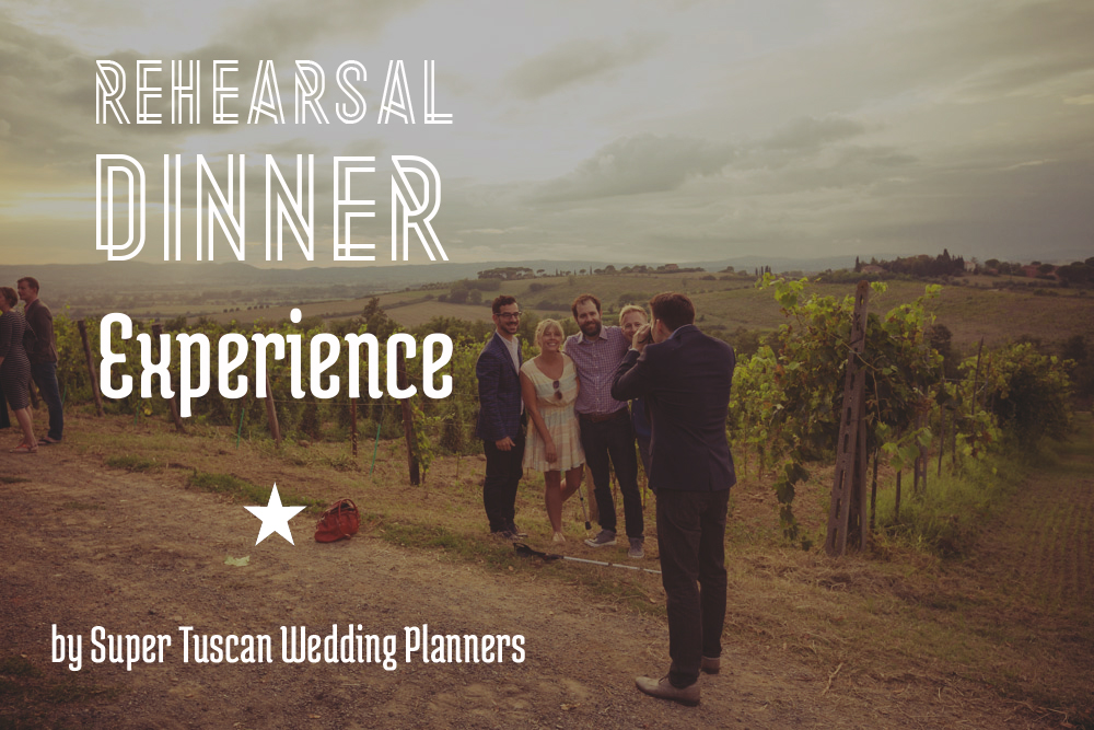 1 Rehearsal dinner in tuscany