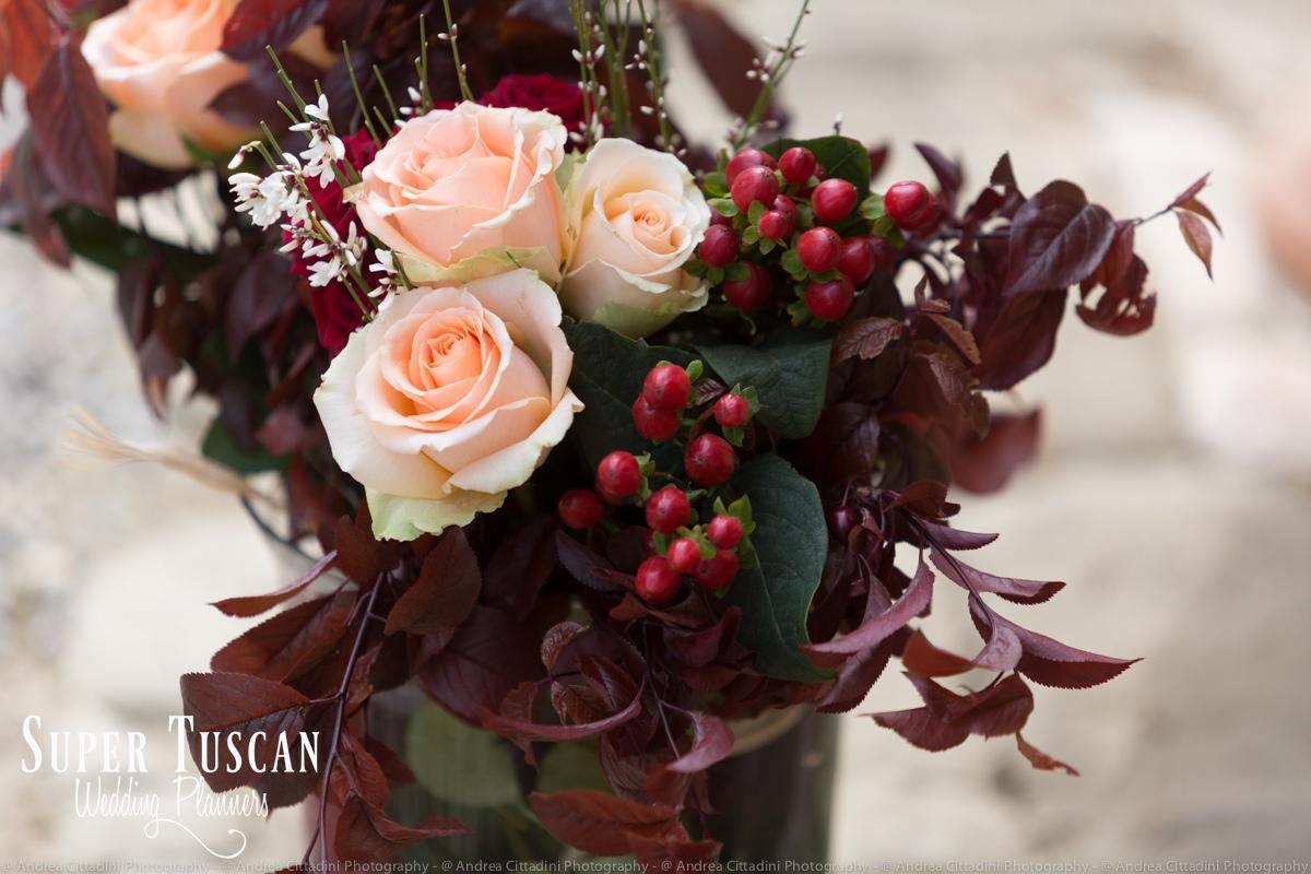 146Vintage marsala Wedding in tuscany