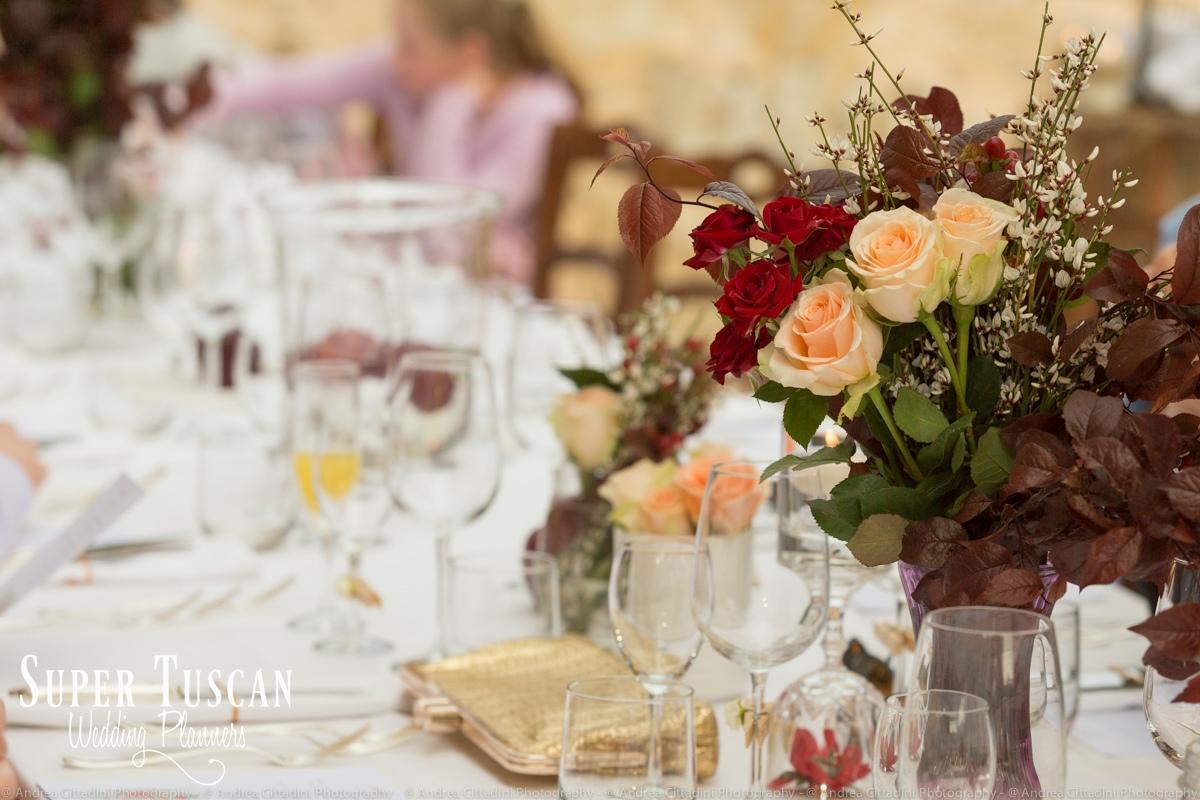 173Vintage marsala Wedding in tuscany