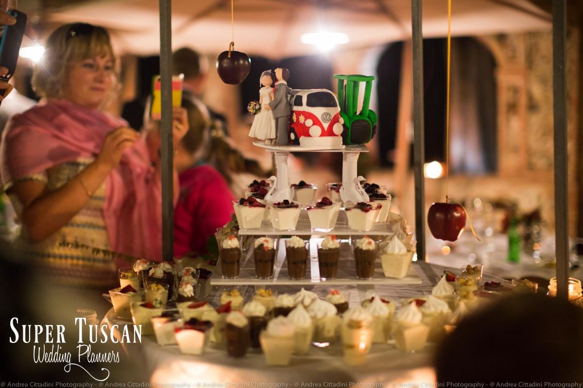 180Vintage marsala Wedding in tuscany