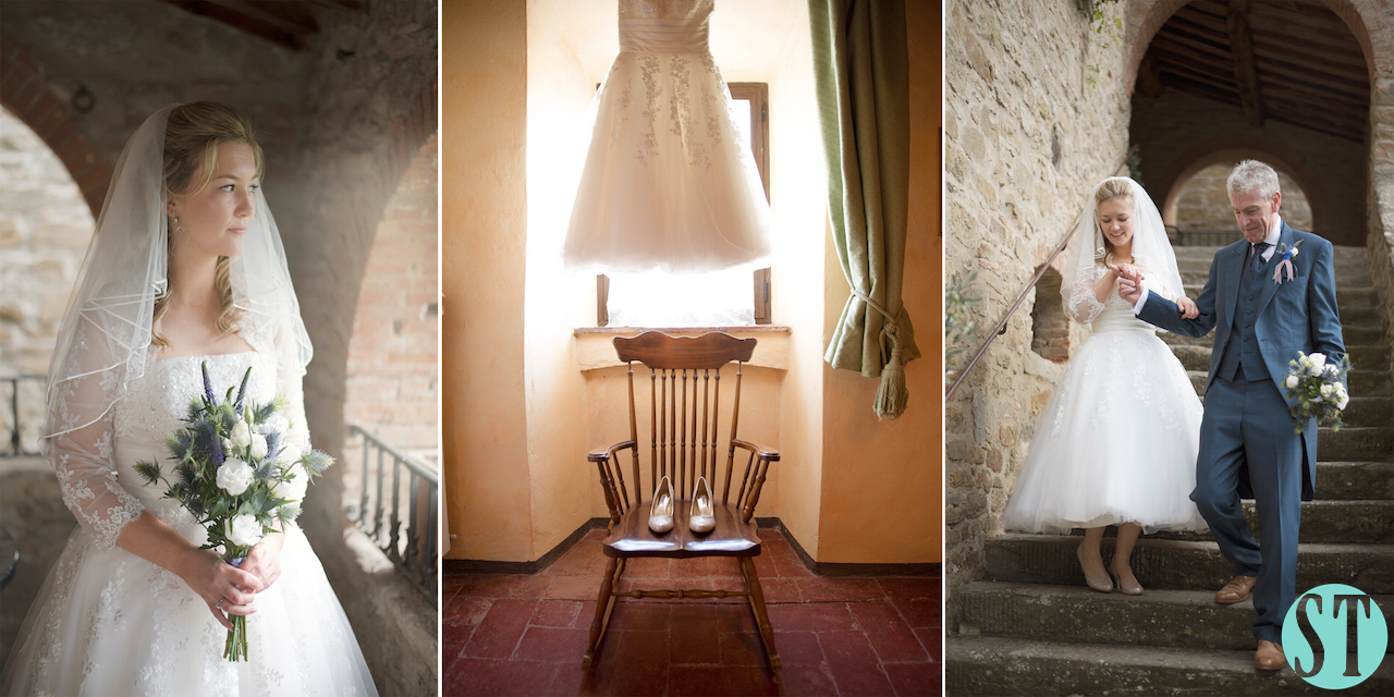 03 Rustic Style Wedding in Tuscany