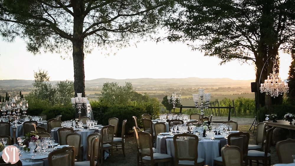 10Romantic wedding in Tuscany