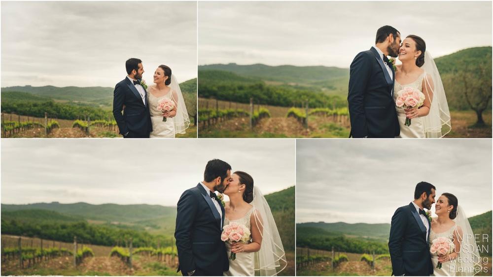 2 Wedding in Tuscany Vineyard