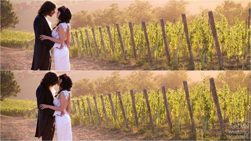 6 Wedding in Tuscany Vineyard