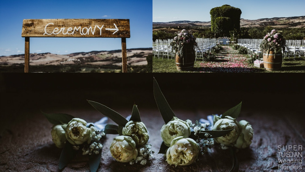 14 Valdorcia Tuscan Country Wedding by Super Tuscan Wedding Planners