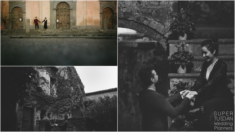 21 Engagement in Civita di Bagnoregio by Super Tuscan Wedding Planners