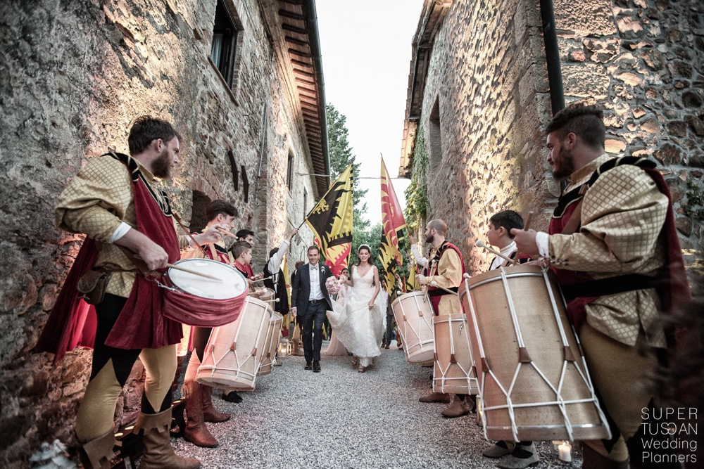 Wedding in Tuscany Italy
