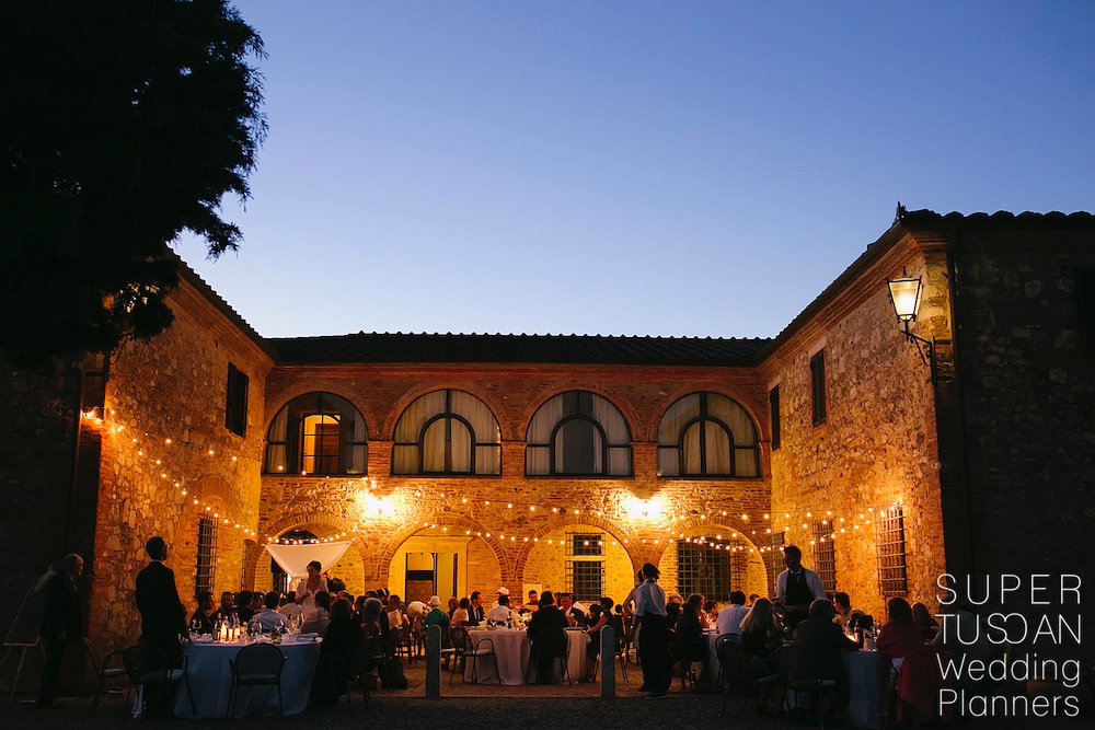 Super Tuscan Outdoor Tuscan Wedding 14
