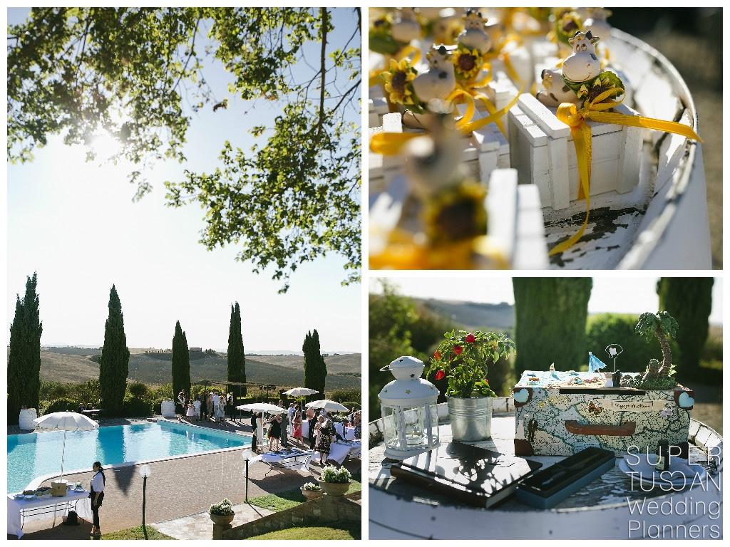 Super Tuscan Outdoor Tuscan Wedding 15