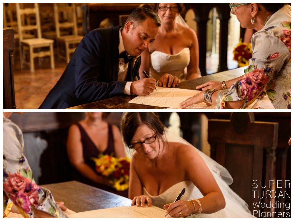 Super Tuscan intimate wedding in tuscany 9