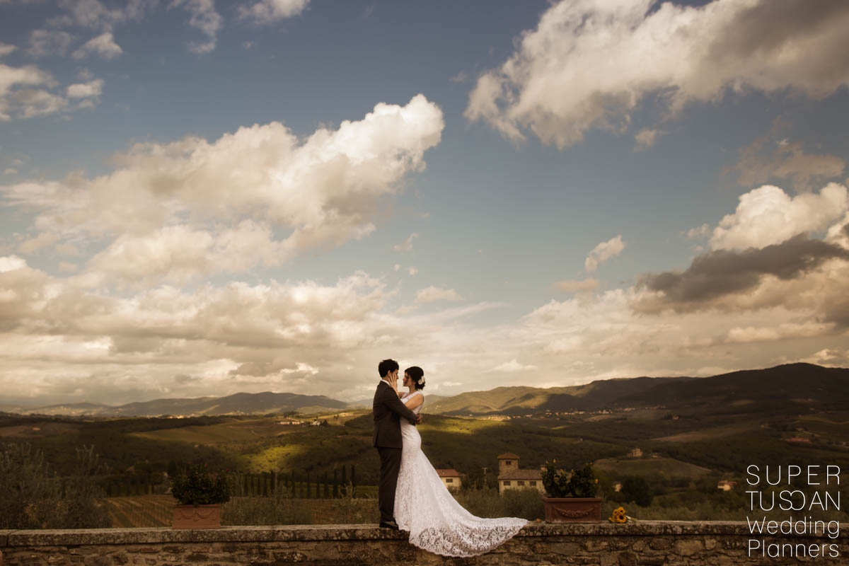 Super Tuscan Castle Wedding in Tuscany 11