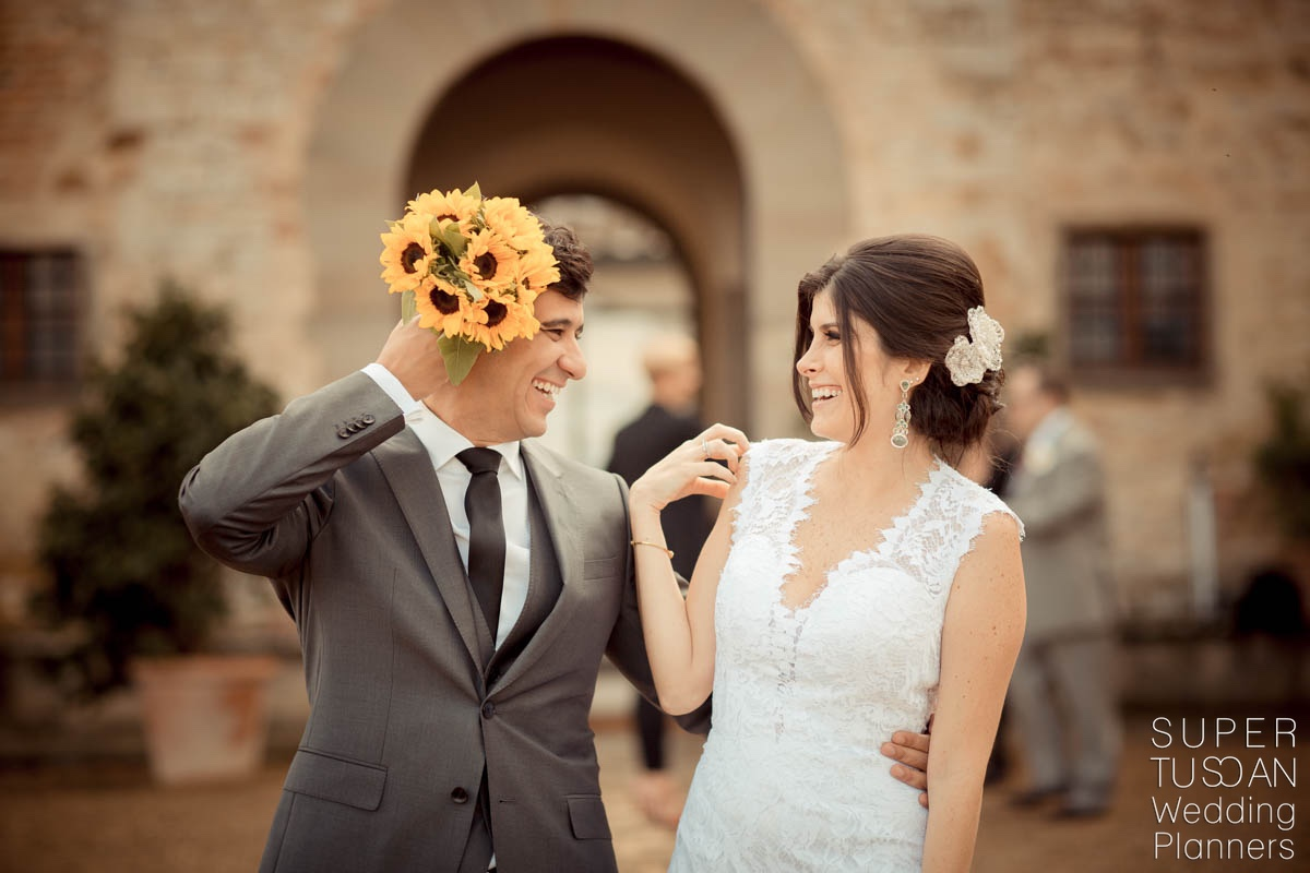 Super Tuscan Castle Wedding in Tuscany 12