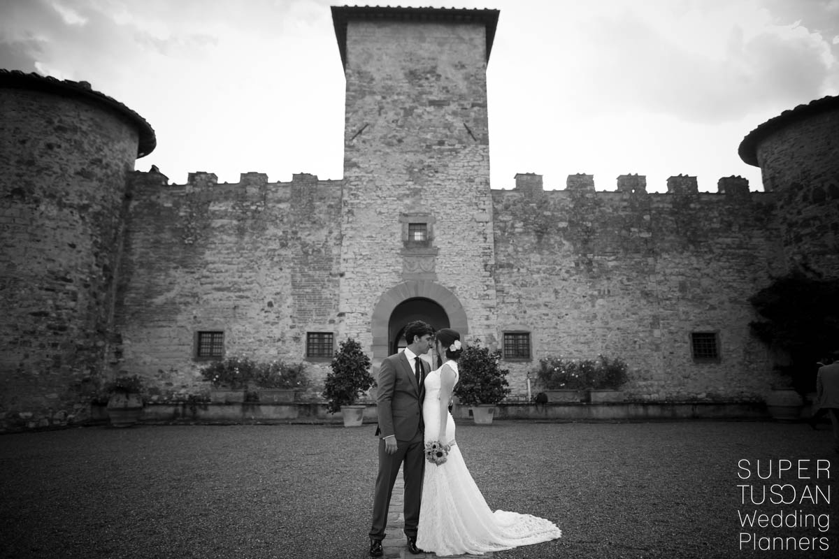 Super Tuscan Castle Wedding in Tuscany 13