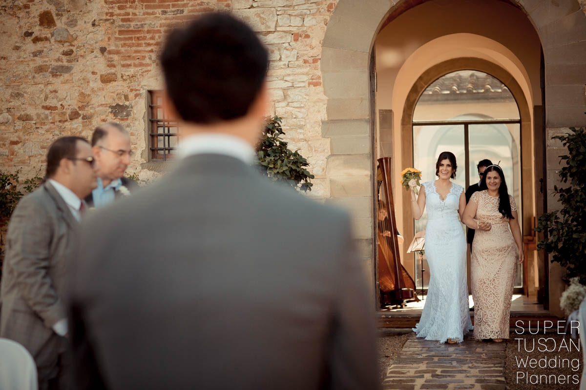 Super Tuscan Castle Wedding in Tuscany 7