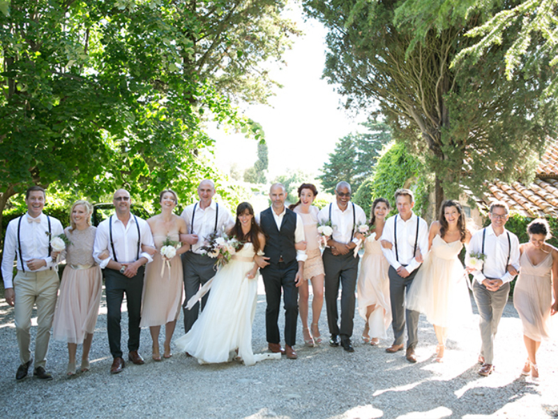 10Boho chic wedding in Tuscany