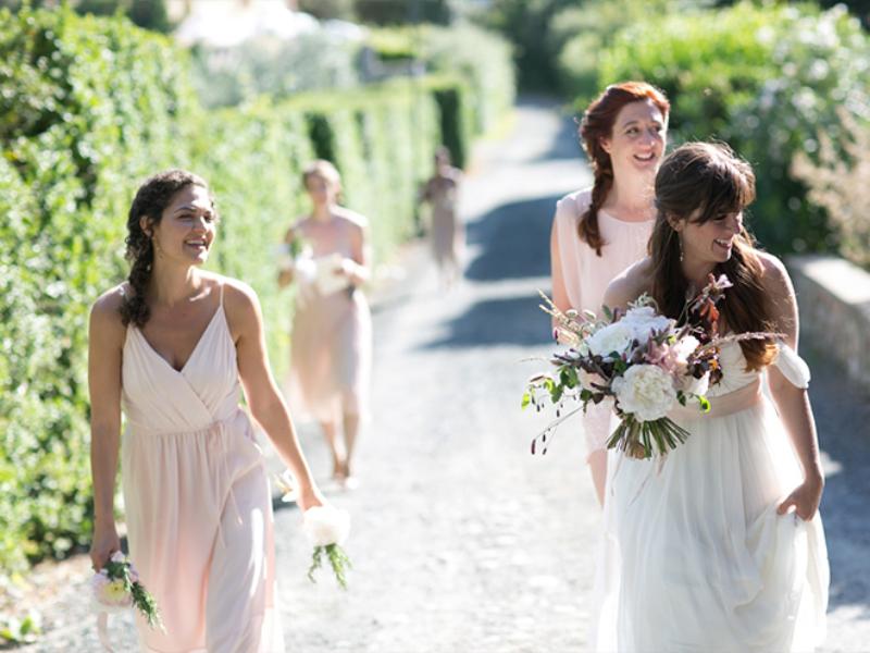 11Boho chic wedding in Tuscany