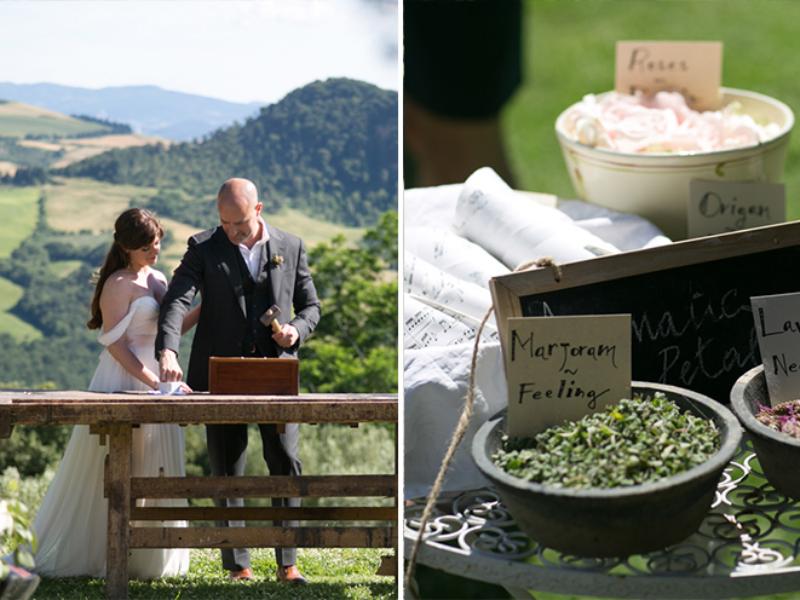 12Boho chic wedding in Tuscany
