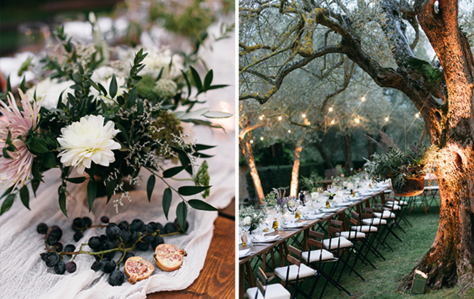 14Chic rustic wedding in italy