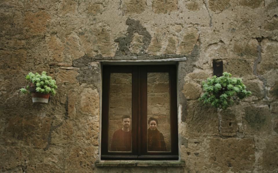 16Autumn engagement in Umbria