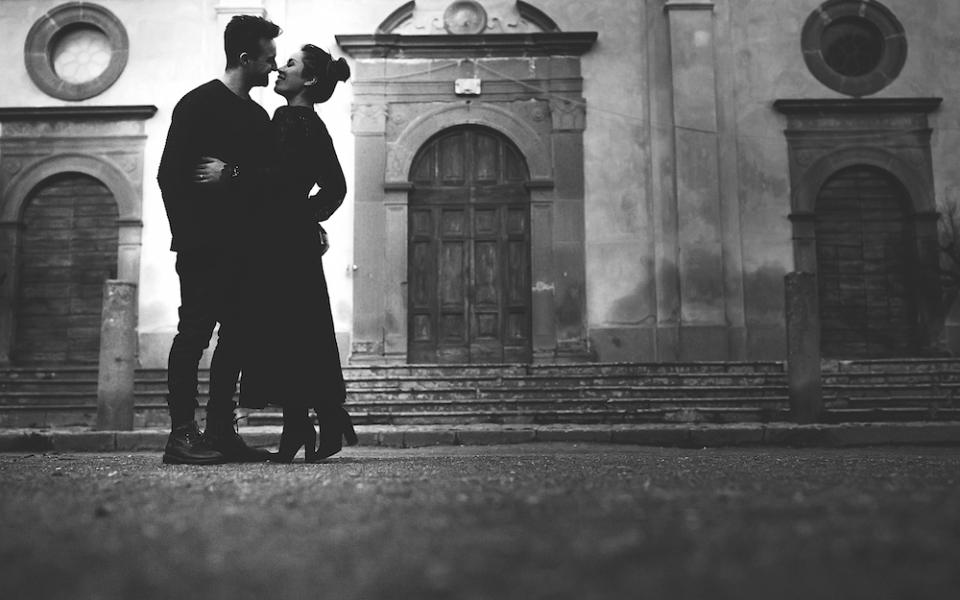 24Autumn engagement in Umbria