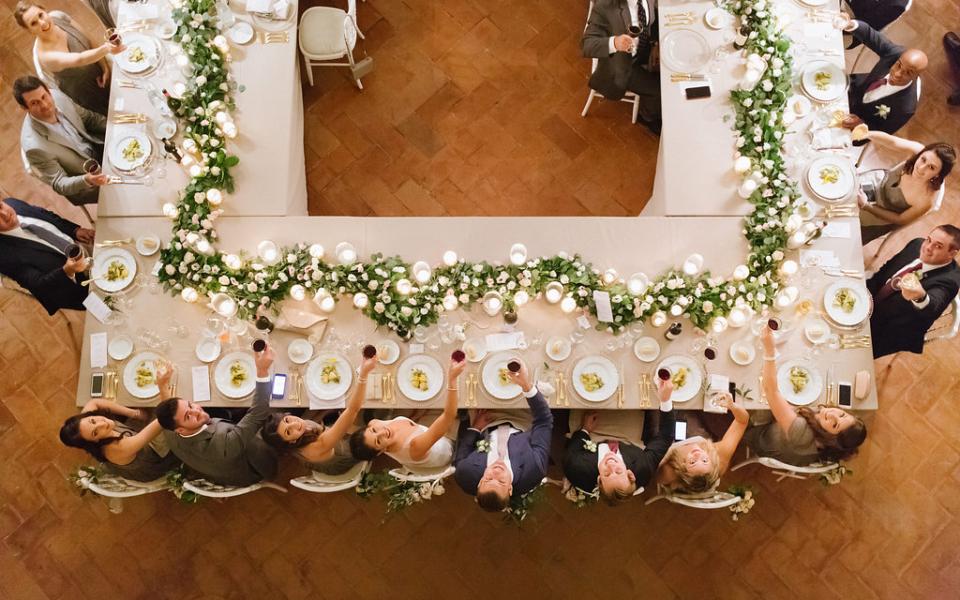 Elegant Classy Tuscan Wedding Planners 18