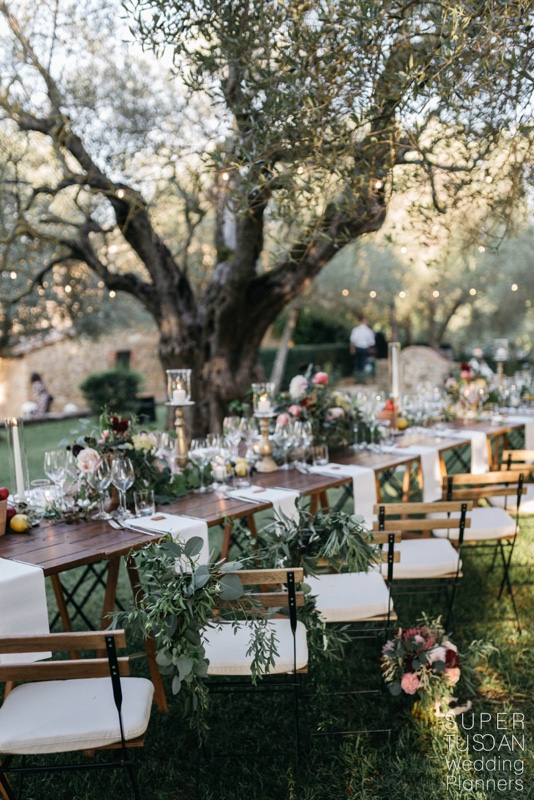 Lovely tuscan wedding - Super Tuscan Wedding Planners